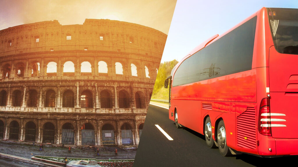 Organizacja wycieczki busem do Włoch