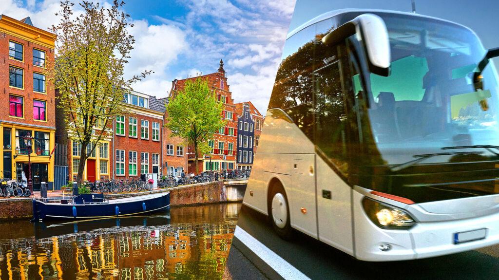 Przewozy Polska Holandia - bilety autobusowe